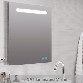 LINA กระจกไฟ 3 x 60 x 80 ซม. M0002